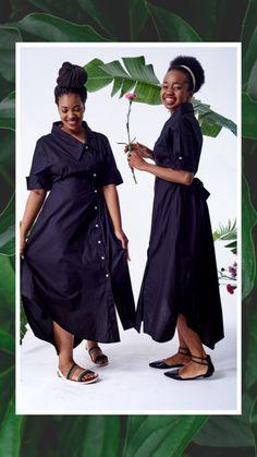 Asymmetrical Shirt Dress – fashionnavela Light Navy Blue, Dress Shirts For Women, Asymmetrical Dress, Autumn, Shirt Dress, Black And White, Lady, Winter, Skirts