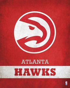 Atlanta Hawks Logo $24.99 ✖️FOSTERGINGER AT PINTEREST ✖️ 感謝 / 谢谢 / Teşekkürler / благодаря / BEDANKT / VIELEN DANK / GRACIAS / THANKS : TO MY 10,000 FOLLOWERS✖️