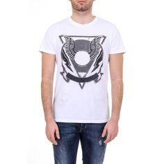 Diesel Mens T-Shirt T-CLAR 00SJUN 0091B 100