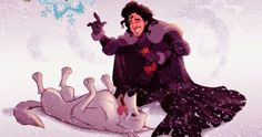Do You Still Recognize Your Favorite Game Of Thrones Characters Drawn As Disney Characters?