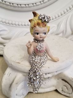 Arts And Crafts Style Furniture Mermaid Dolls, Mermaid Art, Mermaid Statue, Mermaid Sculpture, Mermaid Paintings, Mermaid Nursery, Tattoo Mermaid, Mermaid Crafts, Pink Trees