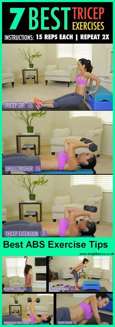 7 best tricep moves for weight loss  | Posted By: CustomWeightLossProgram.com