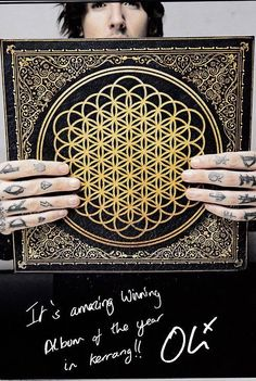 BMTH winning album of the year