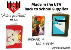 Made in the USA Back to School Supplies by 11:11