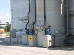 Scrubber V3F-p per Impianto di inertizzazione e miscelazione fanghi