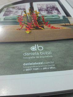 Anúncio para Daniela Buzzi Fotografia de Arquitetura.
