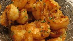 Grilled Shrimp w/ Spicy Old Bay Seasoning dipped in Garlic Butter.  ; -  )