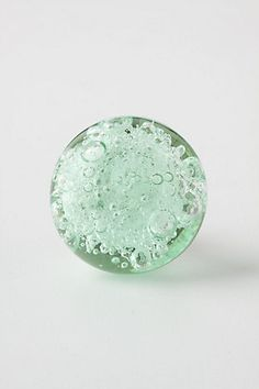 Anthropologie Bubbled Glass Knob $8