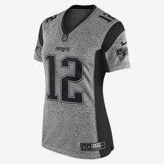 19f6d4a52cd ... Stitched NFL Elite Womens New England Patriots Tom Brady Black Impact  Limited Jersey My Style Pinterest Tom brady
