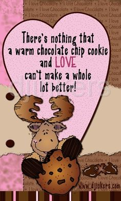 chocolate quote, chocolate clip art, valentine clip art