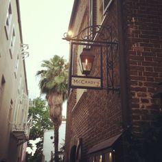 McCrady's Resturant in Charleston, SC. Literally the best food I've ever had. A historic pub with a secret ally entrance that George Washington used to drink in, what could be better
