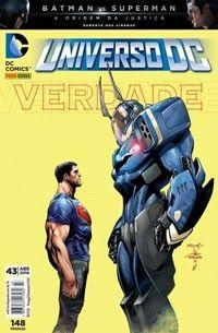 LIGA HQ - COMIC SHOP UNIVERSO DC (52) #43 PARA OS NOSSOS HERÓIS NÃO HÁ DISTÂNCIA!!!