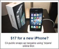 $17 for a New iPhone!