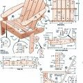Adirondack Chair Build Plans