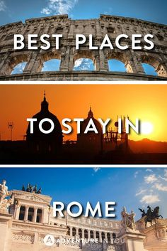 Where to Stay in Rome Planning a trip to Rome but unsure of where to stay? Here's our complete guide on the best places to stay from hotels to budget hostels. Italy Travel Tips, Europe Travel Guide, Rome Travel, Europe Destinations, Travelling Europe, Travel List, Budget Travel, Travel Guides, Hotel Rome