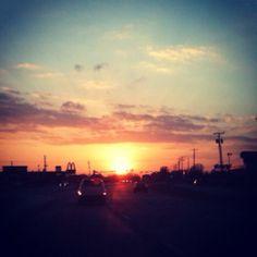 Kansas Sunset March 2012