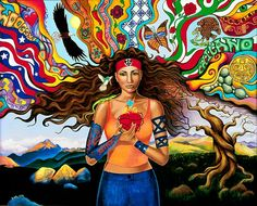 Chicana by  Artist Arlette Lucero