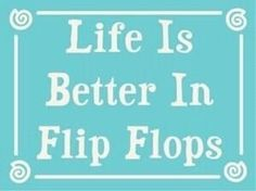 Please summer don't leave! I can't bear to put my flip flops away.....