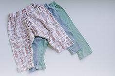 baby harem pants - fre pattern