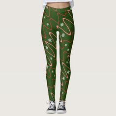 Shop Scribbles & Snowflakes, Holiday corals on green Leggings created by PicturesByDesign. Personalize it with photos & text or purchase as is! Leggings Party, Holiday Leggings, Popular Christmas Gifts, Christmas Eve, Green Leggings, Red Gifts, Corals, Family Kids, Snowflakes