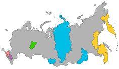 Krais of the Russian Federation