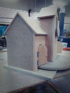 Tik-tak huisje voor in de kleuterklas... Mathias.adriaenssens@hotmail.com voor meer info.