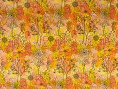 Bouquet in Pink / Orange | Sew L.A. Fabric