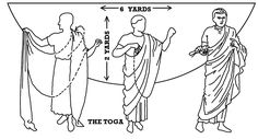How to make an official Roman Toga ... TOGA! TOGA! TOGA! (sorry, couldn't resist...)