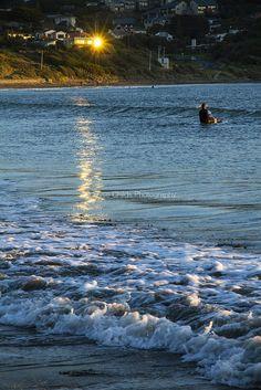 Sunset at Titahi Bay beach | © Elyse Childs Photography