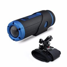 Warrior+Extreme+Edition+HD+1080P+Sports+Action+Camera+with+Wrist+Strap+Waterproof+Sports+Action+Video+Camera+Included+32GB+Storage+Card+(Black) - $161.20