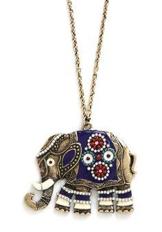 Elephant-abulous Necklace ModCloth.com