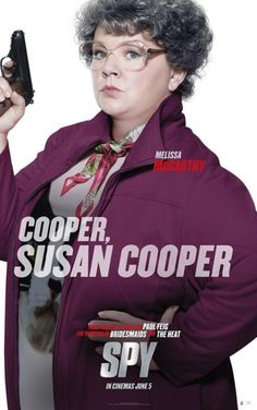 New trailer and five posters for the comedy SPY starring Melissa McCarthy, Rose Byrne, Jude Law and Jason Statham. New Movies, Good Movies, Movies And Tv Shows, New Movie Posters, New Poster, Jason Statham, Melissa Mccarthy Movies, Movies, The Heat