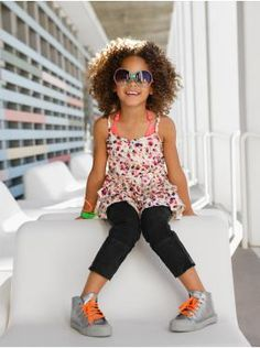 gap kids. Love her foot placement