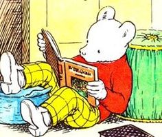 Rupert Bear - a childhood favorite