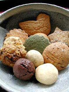 Mixed cookies, Kyoto, Japan  POUKA