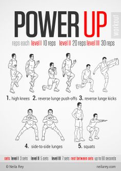 "It looks easy but don't be fooled. This ""Power Up Workout"" will get you sweating and kick your butt. www.rise.us #Rise #LetsRise"