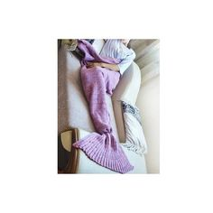 Exquisite Comfortable Purple and Pink Mermaid Design Blanket (630 UAH) ❤ liked on Polyvore featuring home, bed & bath, bedding, blankets, pink, purple bed linen, patchwork blanket, patchwork bedding, mermaid bedding and purple blanket