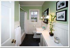 Adding Beadboard to a Bathroom - Our Cape Cod House -- Sand and Sisal