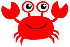 easy crab silouette Clip Art | crab7