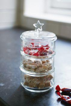 Christmas Stackable Jar S