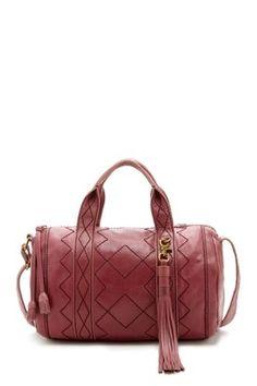 Isabella Fiore Chunky Braid Bella Barrel Handbag