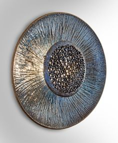 Anonymous; Glazed Ceramic Wall Light by Sejer, 1960s.