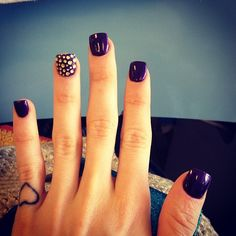 Art purple love  (this will be great for Fall)!! nail-makeup-and-all-things-necessary