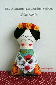 Frida kahlo feltro