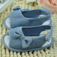 2016 Summer Newborn Infant Toddler Girl Summer Soft Sole Cotton Baby Shoes 0-18M Baby Shoes