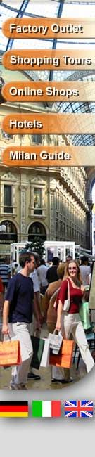 Factory outlet Stores in Milan, Italy - Italian Fashion for business and leisure time - Factory Outlet Italy - Best designer outlets of Italian fashion - online outlet shops of Italian fashion designers