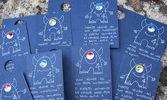 """""""card invito mostro"""" by Chiara Bc"""