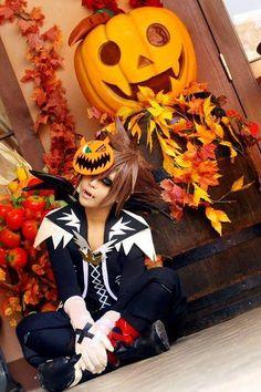 Sora Halloween Town cosplay