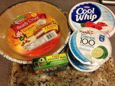 My Daily Running Journey: Weight Watchers Key Lime Pie Recipe