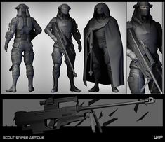 concept for modeling .high tech gear